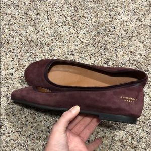 Givenchy suede flats